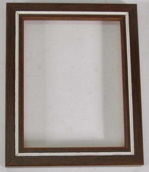 Holzrahmen ohne Glas ca. 13,5x11 cm