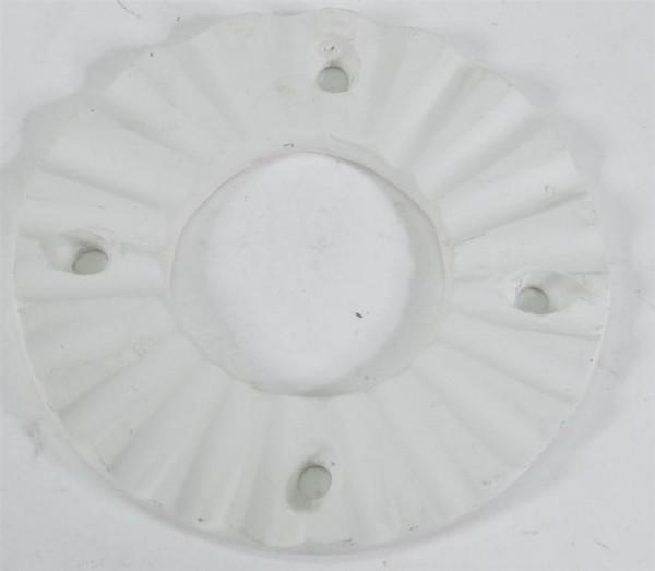 Stövchen Aufsatz weiß D: ca. 12 cm
