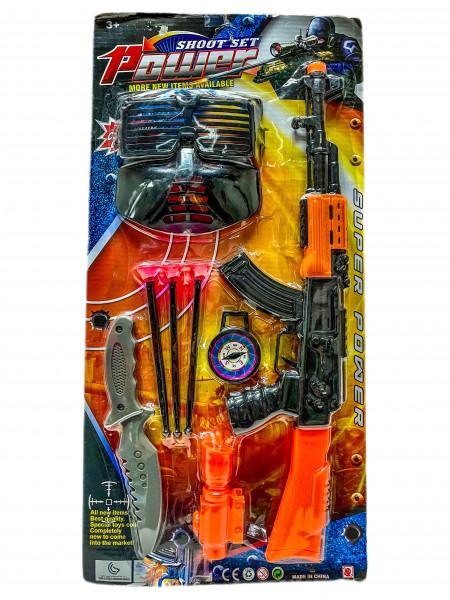 Polizei Set AK Karte ca. 51x25x3cm