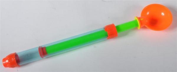 Wasserpistole m. Griff Sandschaufel ca. 28,5 cm, Durchm.ca.2,5 cm