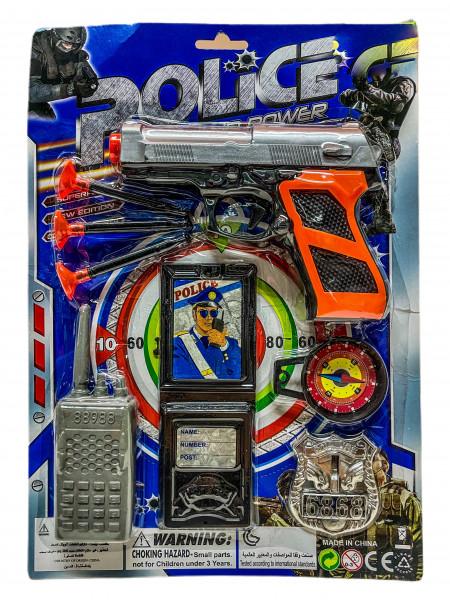 Polizei Set AK ca. 31x22cm