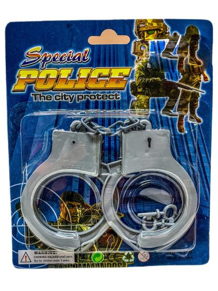 """Handschellen """"Plastik"""" AK ca. 18x6x1 cm"""