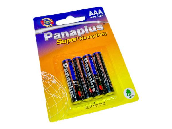 4er Set AAA Batterie BC;