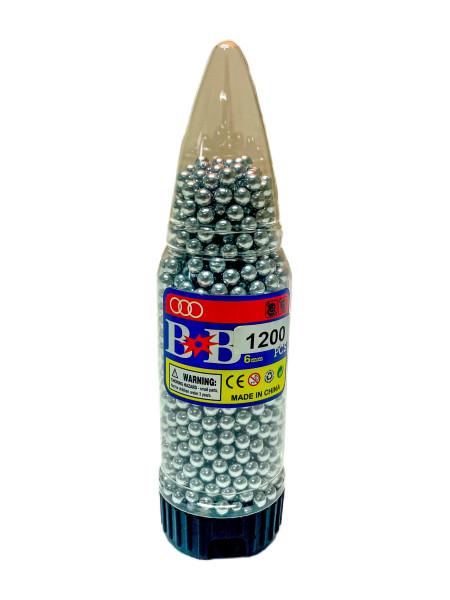 BB Kugeln 1200 Stück / Dose ca. 19x5cm