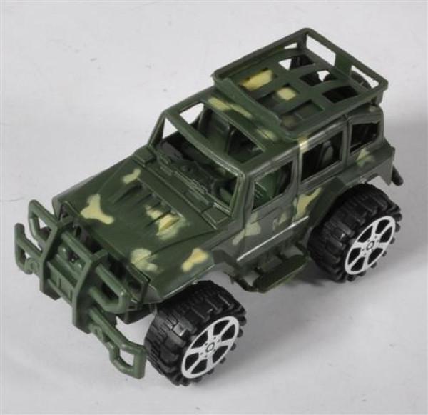 Geländewagen OPP, ca. 17x8x8 cm