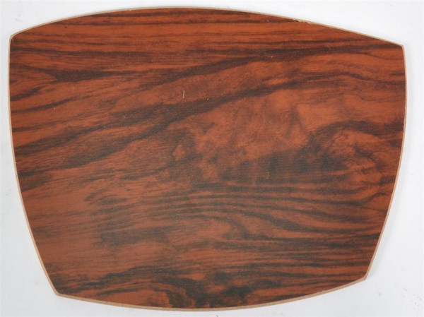 Platte Holzdekor ca. 19x15 cm