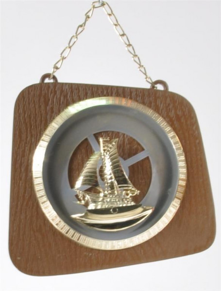 "Bild ""Segelboot"" ca. 13x14cm"