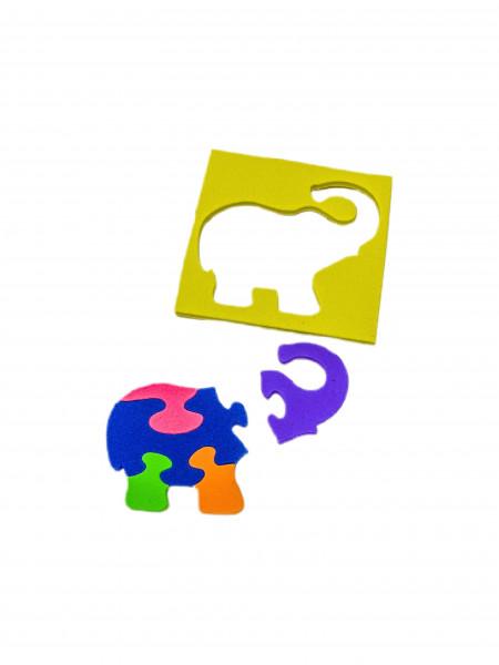Puzzlespiel OPP, ca. 10x10x0.5 cm