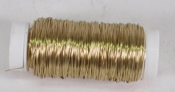 """Wickeldraht gold ca. 0,3 mm ca. 50 gr. """"2956621"""""""