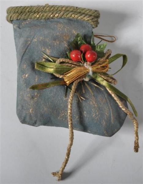 Baumanhänger Stiefel 3farben sort. ca. H: 12 cm