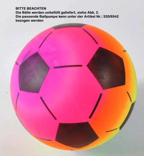Beach Ball Fußball-Design 80 gr. Netz, D: ca.22 cm