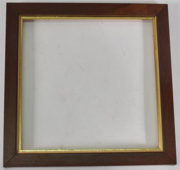Holzrahmen ohne Glas ca. 20x20 cm