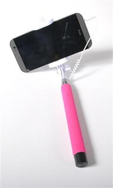 Selfie Stick einklapp.m.Auslöser sort. GK, ca. 29 cm lang
