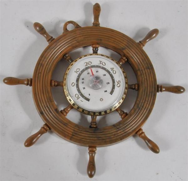 Steuerrad mit Thermometer GK, D: ca. 10 cm