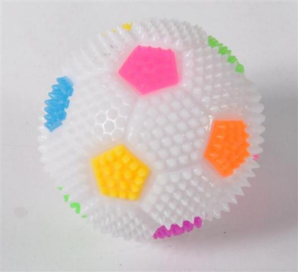 "Ball ""Fußball"" ohne Licht 4fach sort. DIS ca. D 6,5cm"