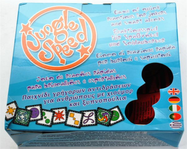 Jungle Speed Reaktionsspiel ca. 19x16x7 cm