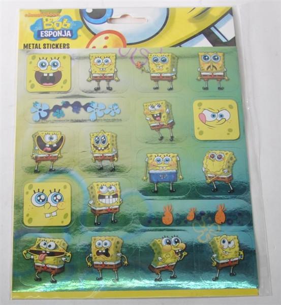 "Metall Sticker ""Spongebob"" AK ca. 22,5x16cm"