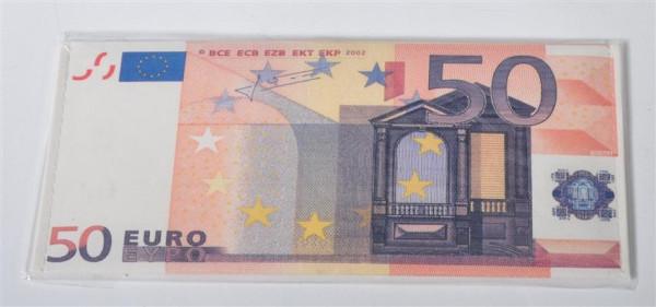 Geldbörse Euro-Scheine 4 fach sort. OPP; ca. 19x8.5 cm