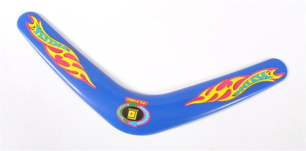 Boomerang farbl.sort., OPP, ca. 28 cm lang