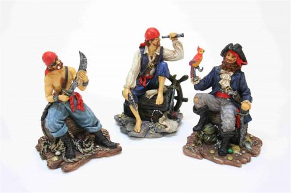 Pirat 3 fach sort. BB; ca. 15x11cm
