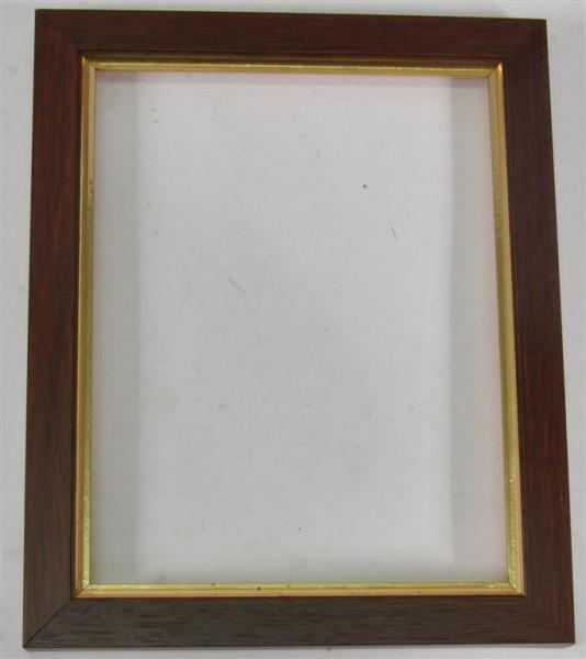 Holzrahmen ohne Glas ca. 21x17 cm