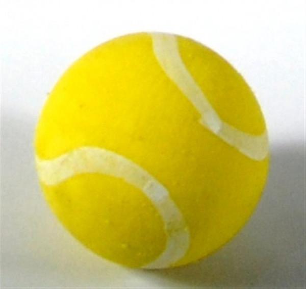 Radiergummi Tennisball gelb DOSE, D: ca. 2,5 cm