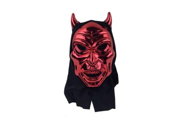 Maske Teufel OPP, ca. 19x30x8 cm