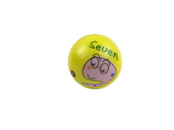 "Ball ""Nummern groß"" sort. OPP, ca. 5 cm Durchm."