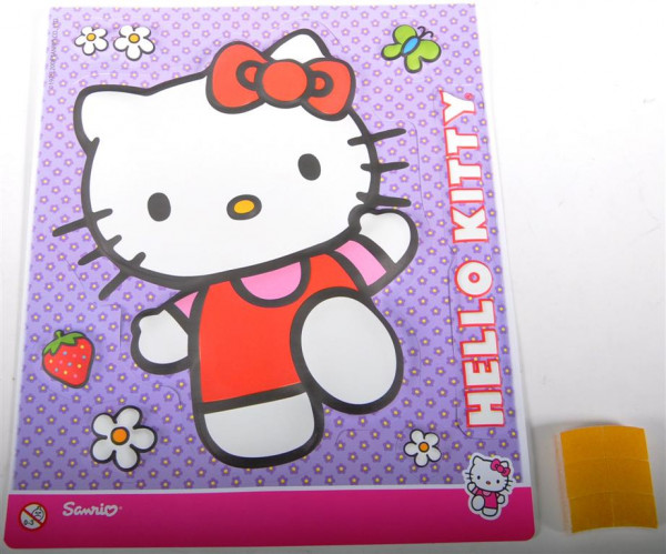 Hello Kitty 3D Glow OPP ca. 24x28,5 cm
