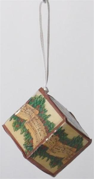 """Christbaum-Schmuck """"Geschenk"""" sort ca.3,5x3,5x3,5 cm"""