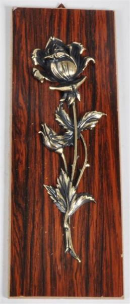 Holzbild m. Motiv versch. sort. ca. 26x9,5 cm