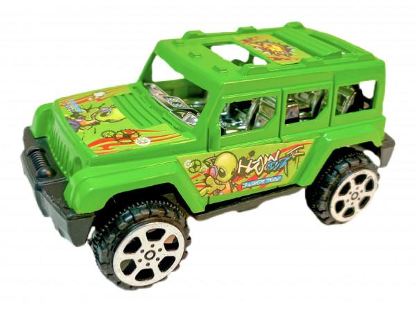 Geländewagen 2er Set PVC BOX, 19x5x4,5 cm