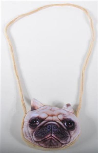 Tasche Hund u. Katze 6 fach sort. PB, ca. 15x14 cm