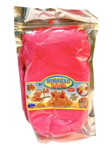 Kinetik Miracle Sand 500 g. im Beutel farbl. sort. ca. 15x21,5cm