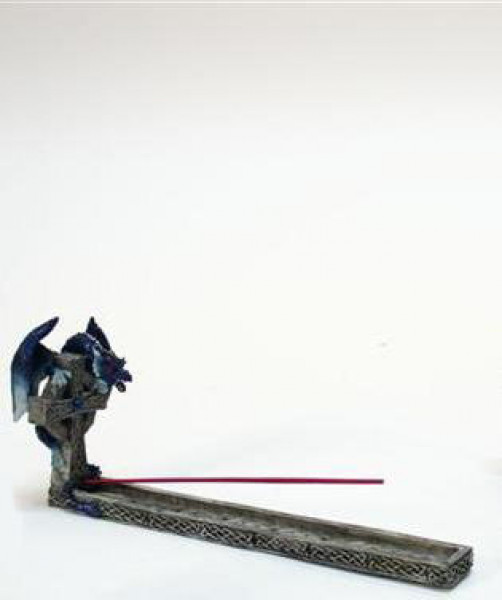 Drachen m. Kreuz 4 Farben sort BB; ca. 12x30cm