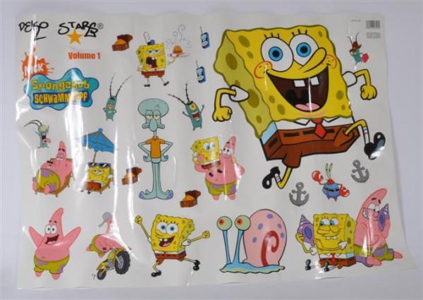 "Sticker ""Spongebob"" ca. 98x69 cm"