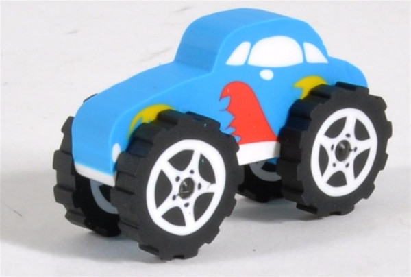 Radiergummi Monstertruck farbl. sort. DIS. ca. 6x4 cm