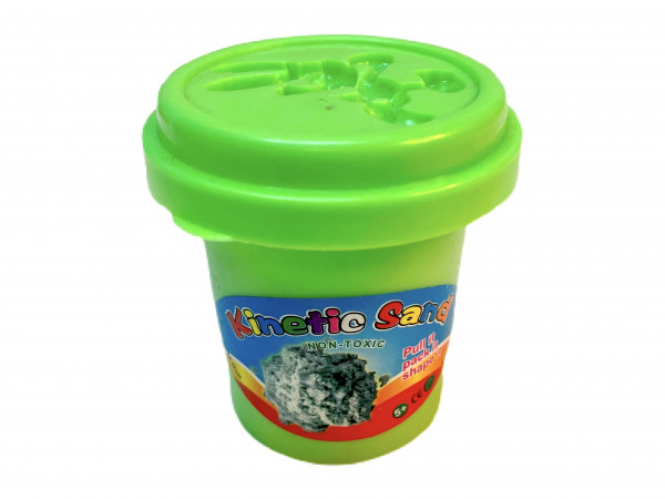 Kinetik Zauber Sand 60gramm farbl. sort. DIS., ca. 6,5x5x4cm