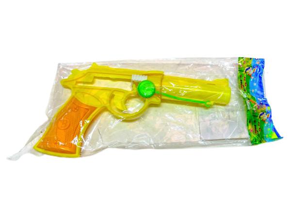 Spielzeugpistole farbl. sort. OPP, ca. 17x10x1,5 cm