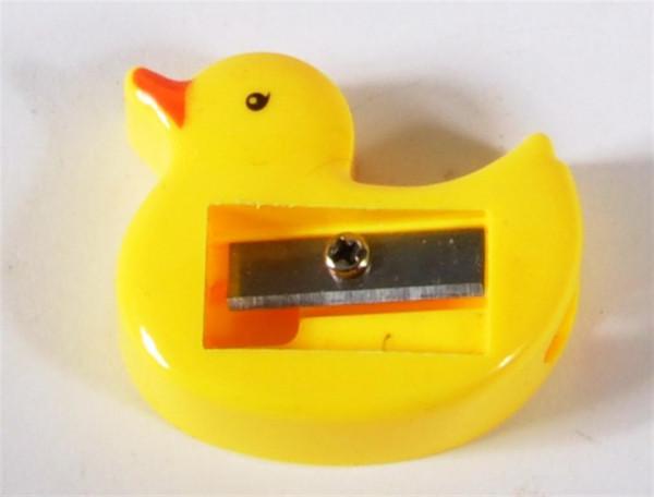 Spitzer Ente gelb DOSE, ca. 4x3,5x1 cm