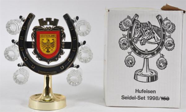 """Hufeisen Seidel-Set """"Deutschland"""" ca. 25 cm hoch"""